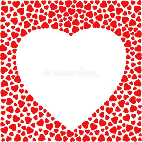 cards of hearts template border with hearts greeting card design template