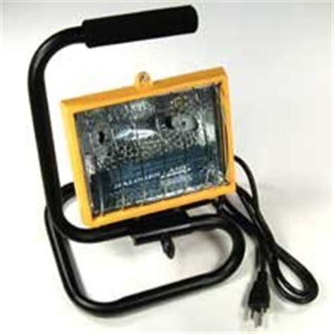 portable outdoor construction lights 500 watt halogen light with stand work construction