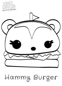 Num Noms Coloring Pages  GetColoringPagescom sketch template
