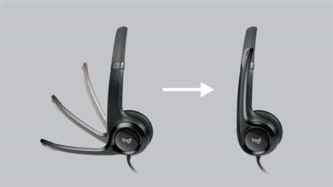 Dijamin Logitech Usb Headset H 390 logitech h390 usb headset with noise cancelling mic en sg