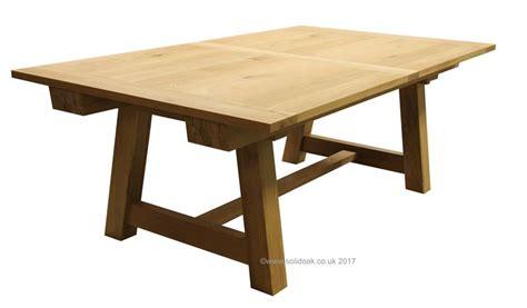 bespoke oak dining table extending from solidoak