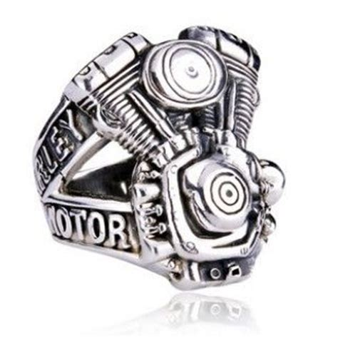 s brand stainless steel biker rings cheap