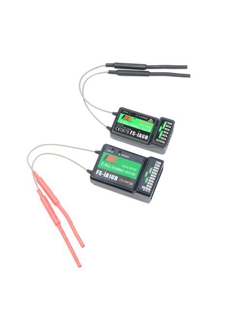 Rx Flysky 24g 6ch Fs Ia6b Receiver Ppm Output W Ibus flysky fs ia10b 2 4ghz afhds 10ch receiver ppm telemetry