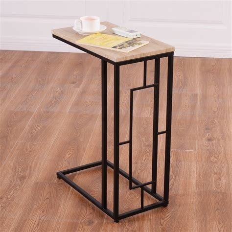 Modern Coffee Table Side End Table L Sofa Square Steel Sofa End Table