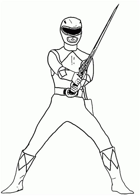power rangers samurai coloring pages red power ranger team coloring page mighty morphin rangers