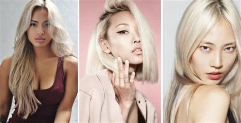 blond asian of asia trends choosing the best hair color for asians
