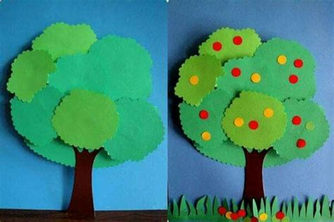 How To Make A Tree Out Of Construction Paper - 17 mejores im 225 genes sobre arboles en