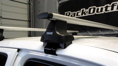 Tacoma Thule Roof Rack by Toyota Tacoma Cab 05 13 With Thule 480r Traverse Aeroblade Base Roof Rack By Rack