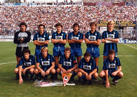 portiere atalanta atalanta bergamasca calcio 1984 1985