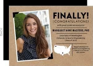 graduate school graduation announcements invitations
