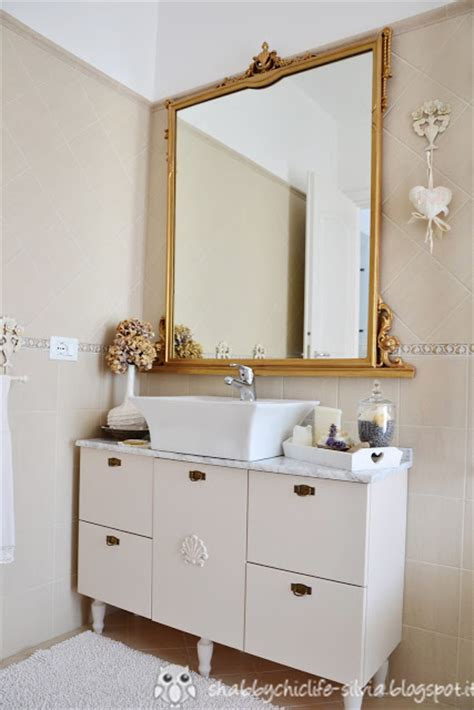 shabby chic bagno shabbychiclife bagno restyle shabby chic ii parte