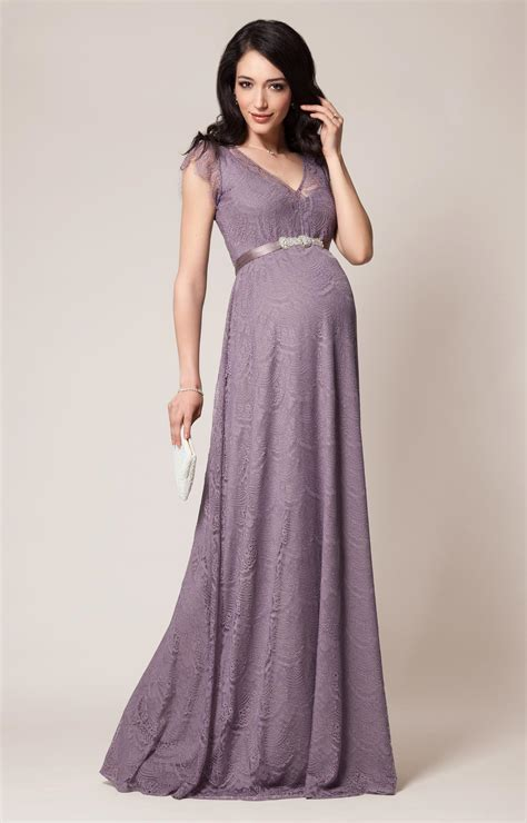 Home Design Lookbook by Kristin Maternity Gown Long Wisteria Maternity Wedding