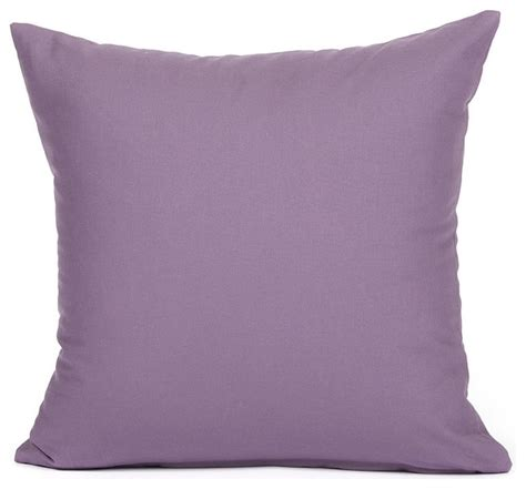 Purple Accent Pillow by Solid Purple Accent Throw Pillow Cover Modern
