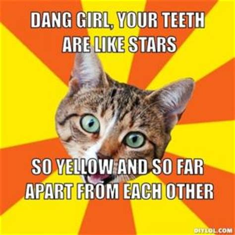 Yellow Teeth Meme - gap teeth jokes kappit