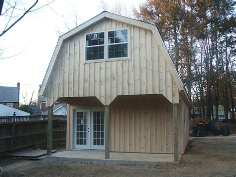 Gambrel Roofs by Complete How To Build A 12x16 Gambrel Roof Shed Jonson