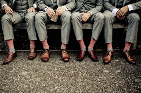 socks to wear with a tux grey suit sweet socks brown shoes something borrowed
