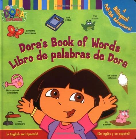 libro learn spanish words learn spanish dora the explorer