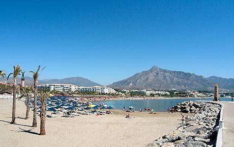 best beach in marbella best beaches on the costa del sol spain puerto ban 250 s