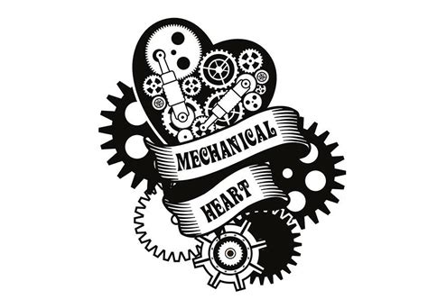 mechanical heart tattoo designs gear and wrench tattoos slideshow