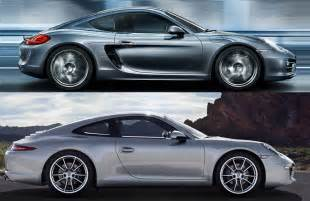 Porsche Cayman Vs 911 Porsche 911 Vs Porsche Cayman Which To Buy Openroad