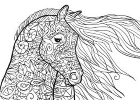 intricate horse coloring pages pferde mandala als pdf zum kostenlosen herunterladen