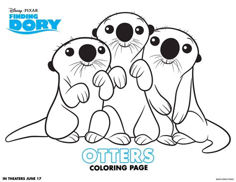 dory coloring pages finding dory free coloring pages