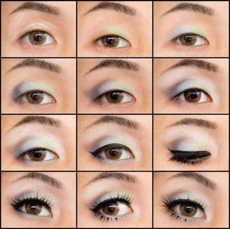 imagenes de ojos saltones maquillados como maquillar los ojos saltones paso a paso maquillaje