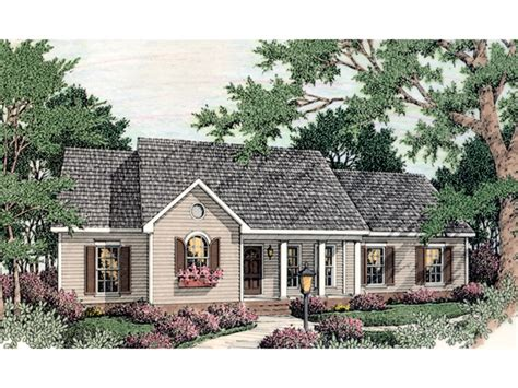 chesley country ranch home plan house plans