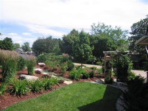 landscaping a berm outdoor elements pinterest