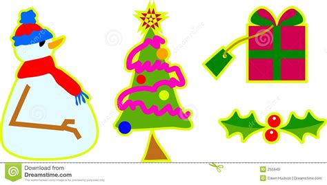 images of christmas objects christmas objects royalty free stock images image 255949