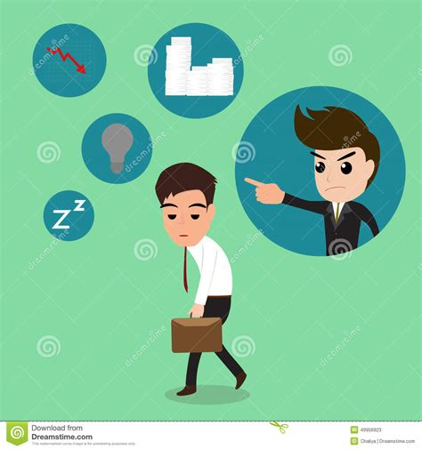 Hard Work Man Tired Man Business Stock Vector 660628576 | business man so tired after work hard stock vector image