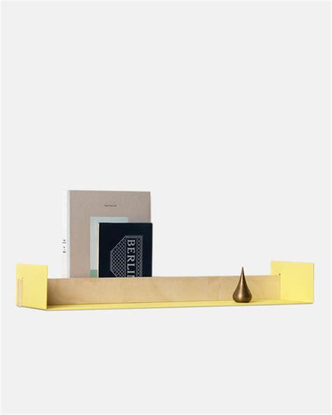 Beams Push Mba Lrg by Leo Naknak Beam Wall Shelf Large Grey