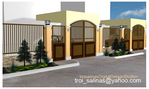 fence design for small house architectural home design by troi salinas category private houses type exterior