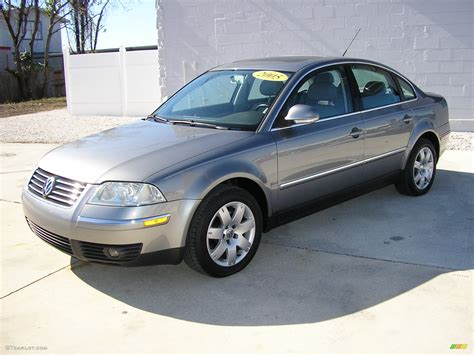 gray volkswagen passat 2005 united grey metallic volkswagen passat gls 1 8t sedan