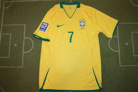 Brazil Home 2010 Retro brazil home football shirt 2008 2010 added on 2015 12