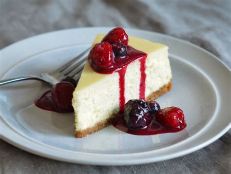 is ny style cheesecake refrigerated new york style cheesecake once upon a chef