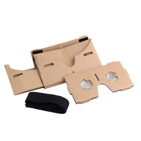 Cardboard Vr Silver Magnet For Smartphone 3 5inchi T0210 wholesale cardboard reality headset 3d vr glasses with nfc 5 4 inch screen hom