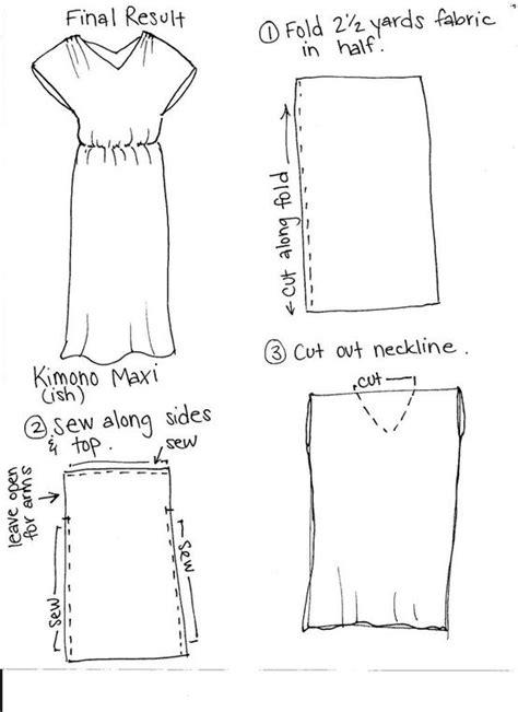 simple yukata pattern maxi dress pattern craft projects pinterest maxi