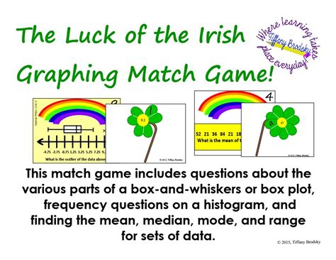 s day plot st patricks day luck of the graphing match