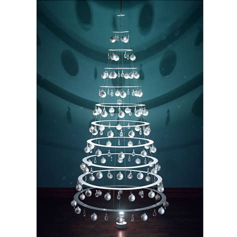 the high modernist s christmas tree hammacher schlemmer