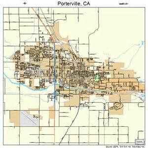 porterville california map porterville california map 0658240