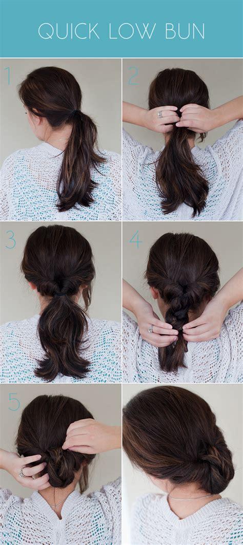 How To Make A Low Bun With Long Box Braids Hairstyles | quick low bun pretty plain janes