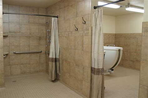 Bathroom Design Dimensions by North Central Care Amp Rehabilitation Hyatt Family