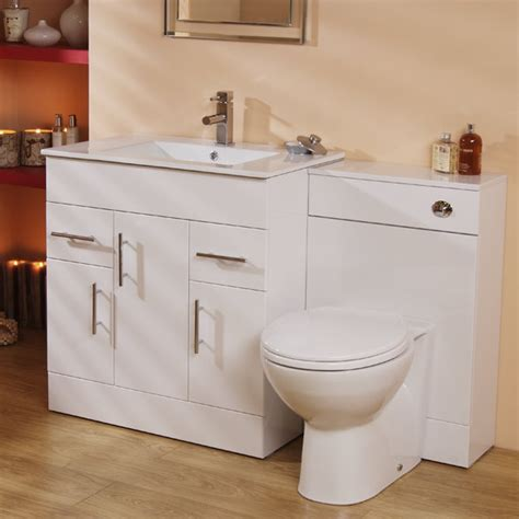 Aspen Bathroom Furniture Aspen 75cm Vanity Unit Wc