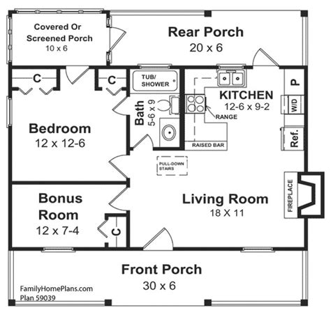 porch floor plans small house floor plans small country house plans