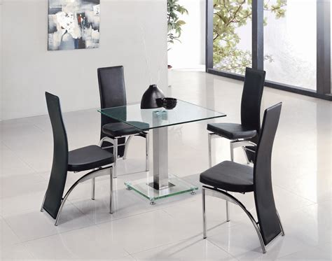 dining room table 4 chairs glass dining room table and 4 chairs 187 dining room decor