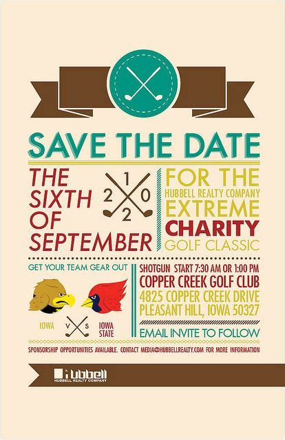 fundraiser save the date card templates 37 best golf tournament ideas images on golf
