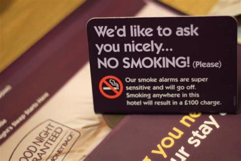 no smoking sign hotel no smoking please picture of premier inn leicester