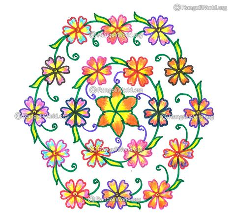 flower design pulli kolam flower kolam nov 2015 15 8 interlaced dots