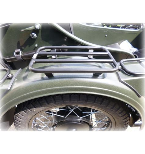 luggage rack for sidecar fender black